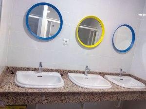 Zona de lavabos